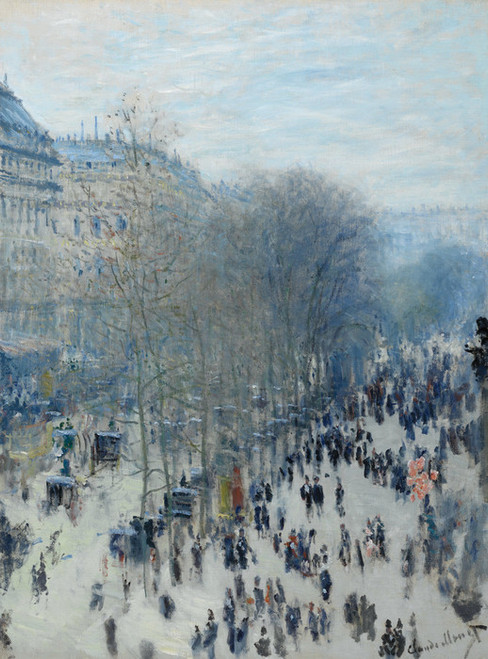 Art Prints of Boulevard Des Capucines by Claude Monet