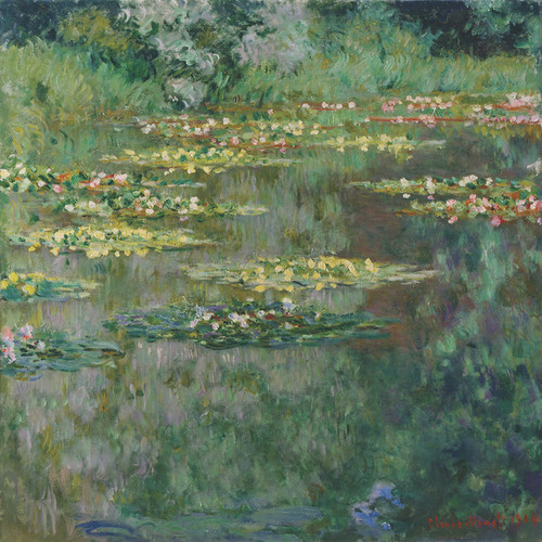 Art Prints of Le Bassin des Nympheas by Claude Monet
