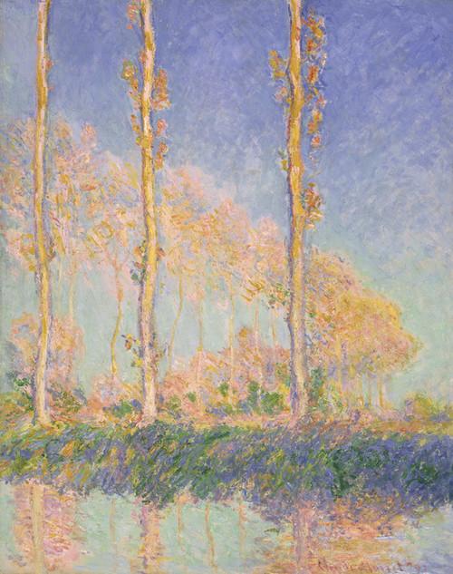 Art Prints of Poplars by Claude Monet