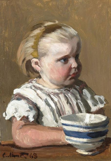 Art Prints of Portrait of Jean Monet by Claude Monet