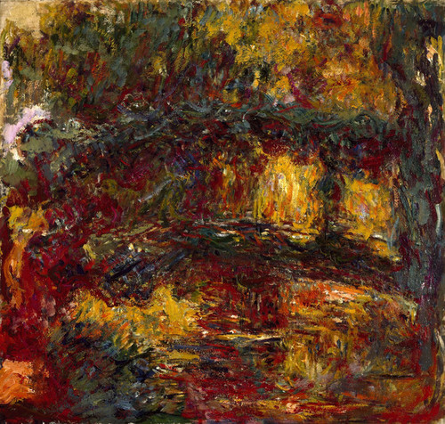 Art Prints of The Japanese Footbridge, Giverny by Claude Monet