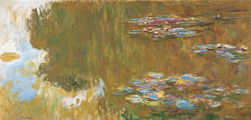Art Prints of The Water Lily Pond, 1917-19 by Claude Monet