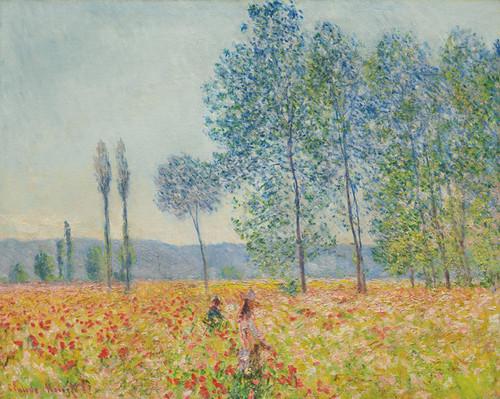 Art Prints of Under the Poplar by Claude Monet