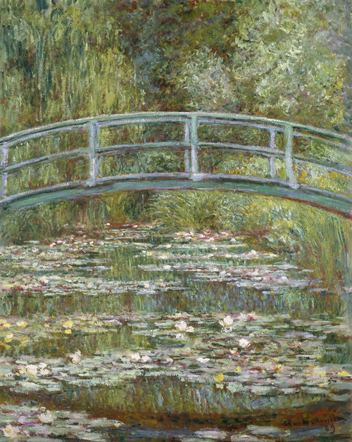 Art Prints of The Water Lily Pond, 1899 by Claude Monet