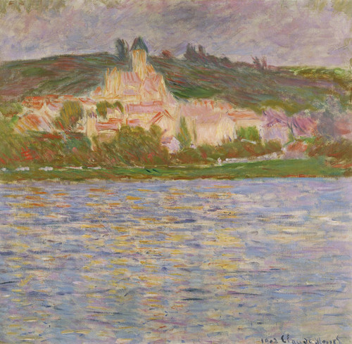 Art Prints of Vetheuil III by Claude Monet