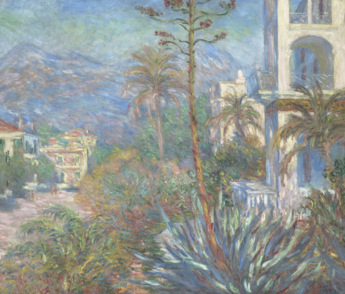 Art Prints of Villas at Bordighera by Claude Monet