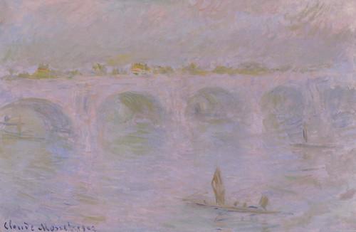 Art Prints of Waterloo Bridge in London by Claude Monet