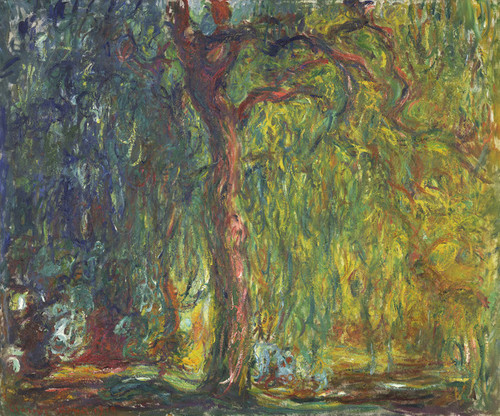 Art Prints of Weeping Willow by Claude Monet