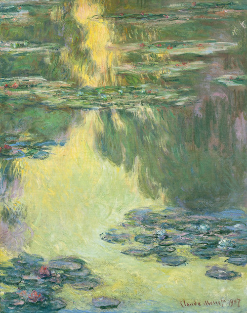 Art Prints of Waterlilies, 1907 by Claude Monet