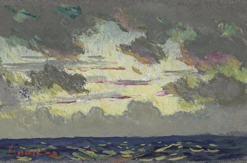 Art Prints of Santa Barbara Sunset by Colin Campbell Cooper