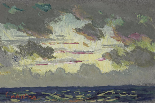 Art Prints of Santa Barbara Sunset by Colin Campbell Cooper