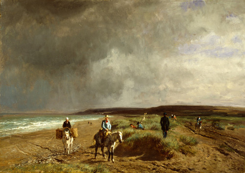Art Prints of Coast Near Villers by Constant Troyon
