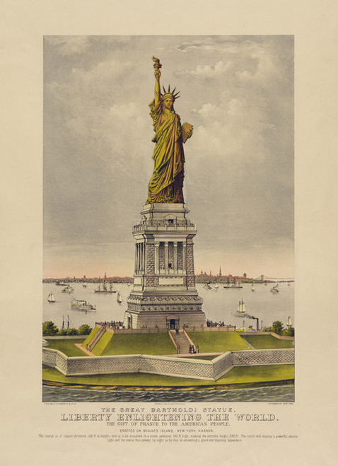 Art Prints of Liberty by Currier & Ives