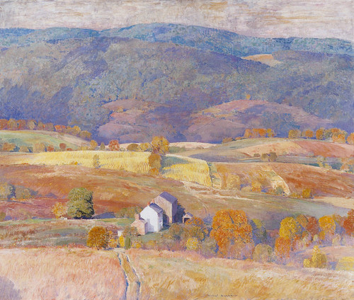 Art Prints of Autumn in the Hills by Daniel Garber