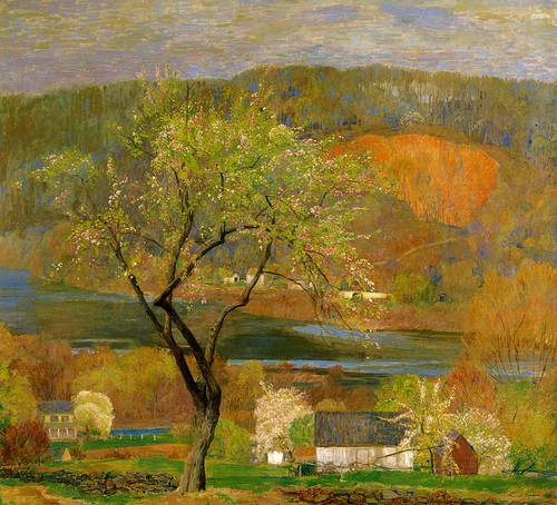 Art Prints of Blossom Time, Byram by Daniel Garber