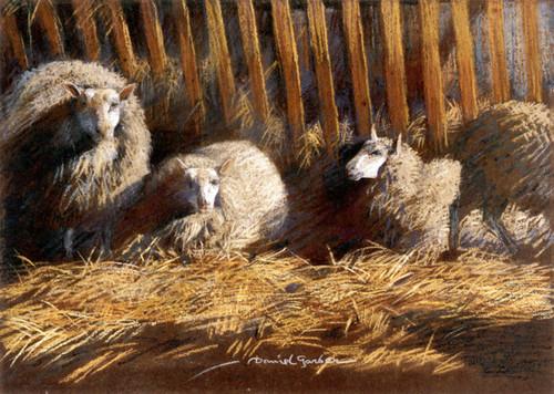 Art Prints of Cheviots by Daniel Garber