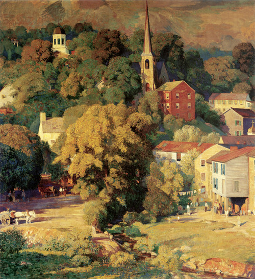 Art Prints of Ellicott City by Daniel Garber