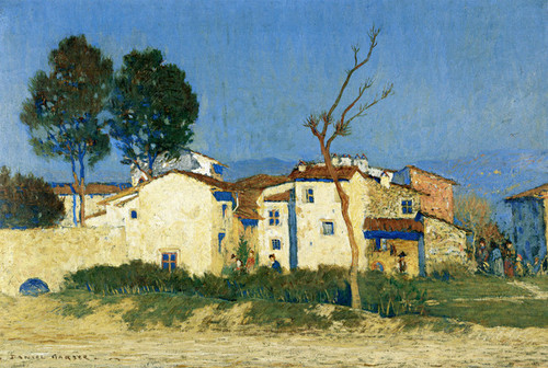 Art Prints of Evening, Tuscany by Daniel Garber