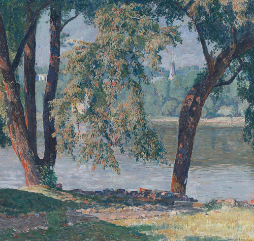 Art Prints of Elm Bough by Daniel Garber