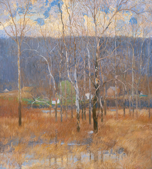 Art Prints of Gray Day, March by Daniel Garber
