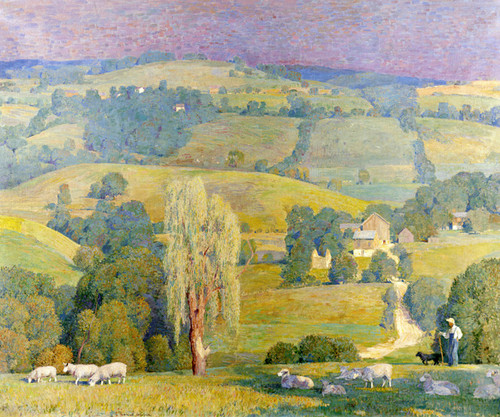 Art Prints of Green Pastures by Daniel Garber