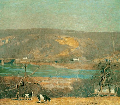 Art Prints of Hills of Byram by Daniel Garber