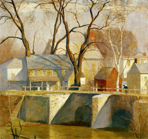 Art Prints of In New Hope by Daniel Garber