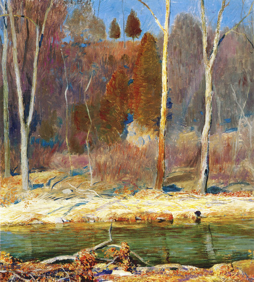 Art Prints of Late Autumn by Daniel Garber