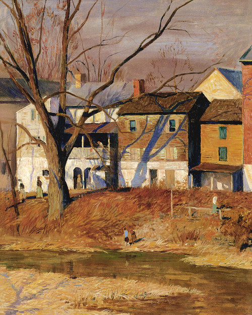 Art Prints of Mechanic Street Environs by Daniel Garber
