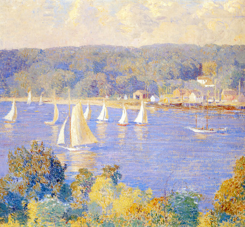 Art Prints of On a Saturday Afternoon by Daniel Garber