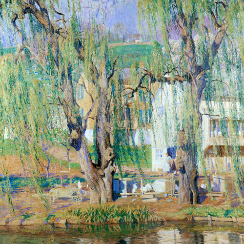 Art Prints of Old Willows, Springtime by Daniel Garber