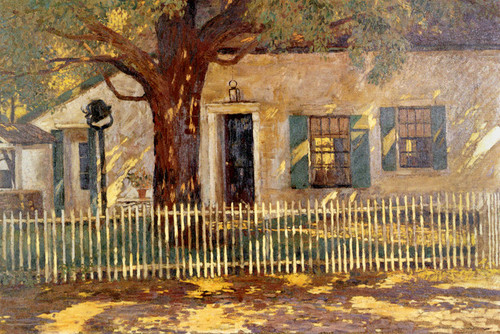 Art Prints of Paling Fence by Daniel Garber
