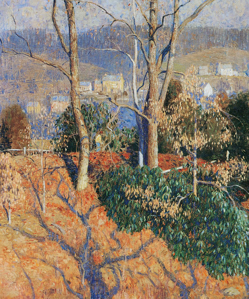 Art Prints of Over the Hill by Daniel Garber