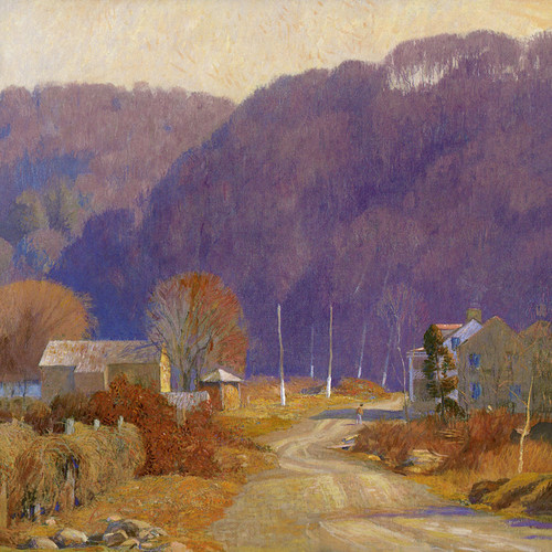 Art Prints of The Road to Byram, Lower Black Eddy
