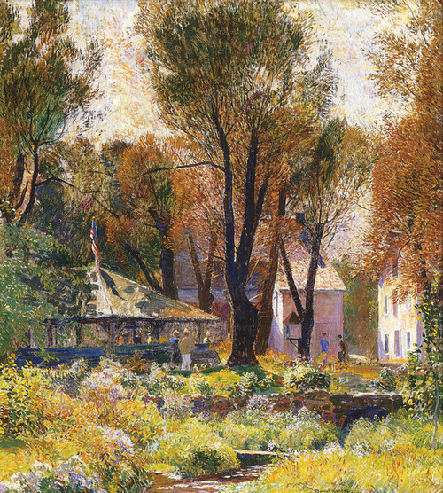 Art Prints of Spring Valley Inn by Daniel Garber