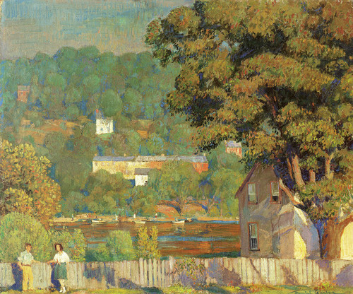Art Prints of Summer Day by Daniel Garber