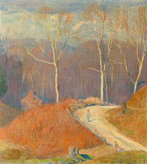 Art Prints of Sycamore Road Outside Stockton by Daniel Garber