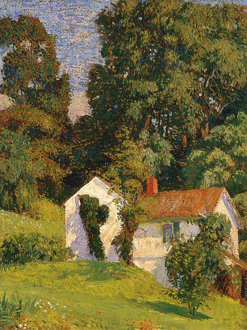 Art Prints of The Cottage, Cuttalossa by Daniel Garber