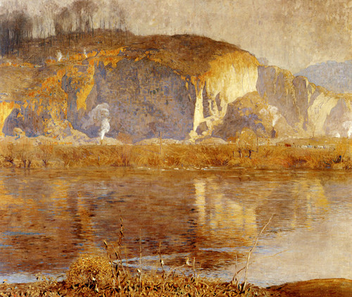 Art Prints of The Quarry by Daniel Garber