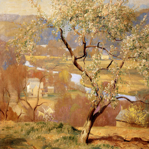 Art Prints of The Valley, May by Daniel Garber