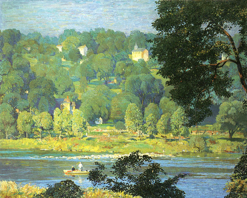 Art Prints of Tinicum Hillside by Daniel Garber