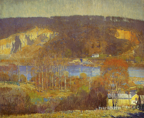 Art Prints of Tohicken Valley by Daniel Garber