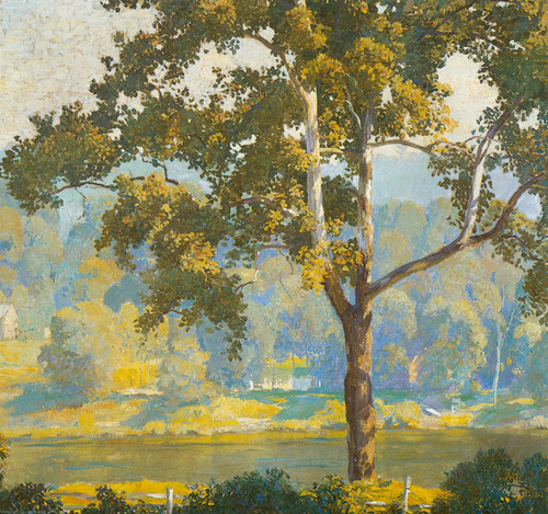 Art Prints of Tree in a Landscape by Daniel Garber