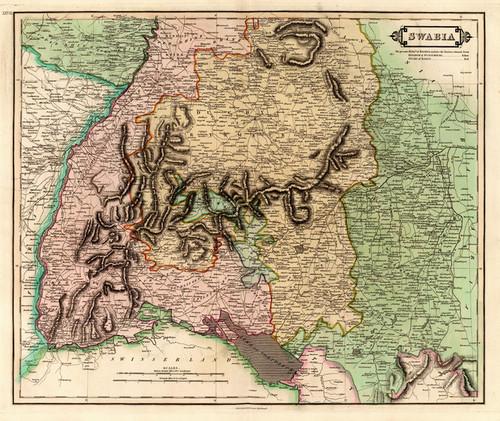 Art Prints of Swabia, 1831 (0436027) by Daniel Lizars