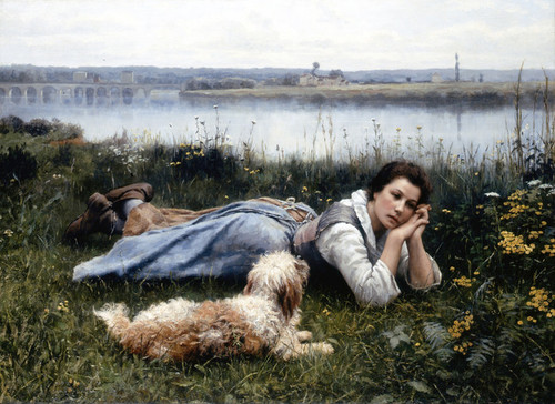 Art Prints of Reverie by Daniel Ridgway Knight