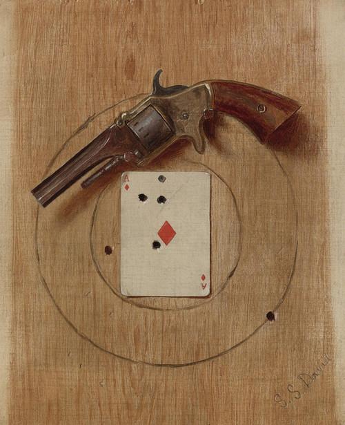 Art Prints of Pistol and Ace by De Scott Evans