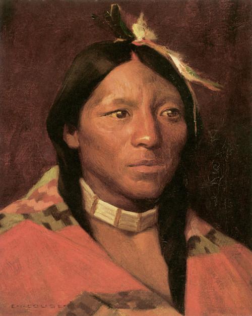 Art Prints of John Concha, Taos, Pueblo by Eanger Irving Couse