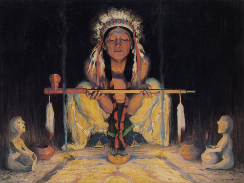 Art Prints of Offering to the Great Spirit by Eanger Irving Couse
