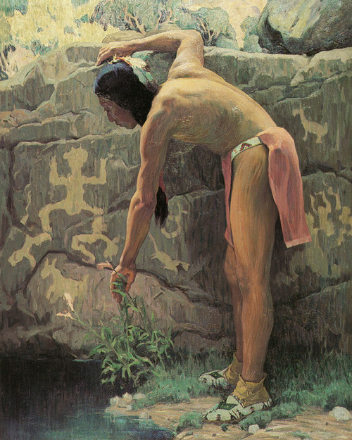 Art Prints of Pictograph by Eanger Irving Couse