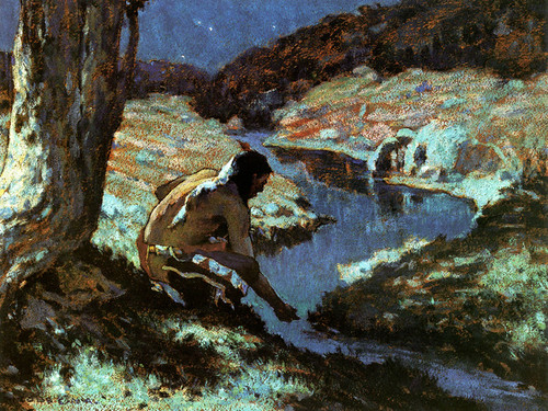 Art Prints of Sacred Water by Eanger Irving Couse